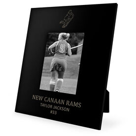 Field Hockey Engraved Picture Frame - Player