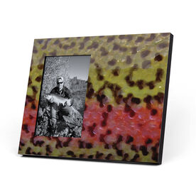 Fly Fishing Photo Frame - Rainbow Trout Without Label
