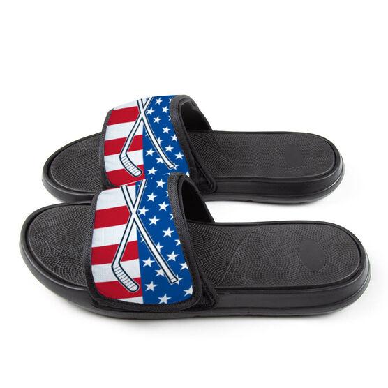 Hockey Repwell® Slide Sandals - USA Hockey