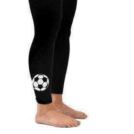 Soccer Leggings Soccer Ball