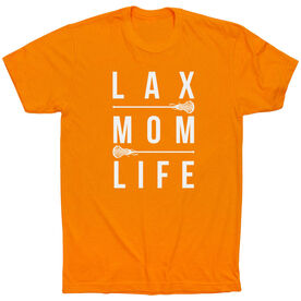 Girls Lacrosse Short Sleeve T-Shirt - Lax Mom Life