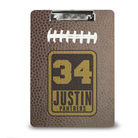 Football Custom Clipboard Personalized Football