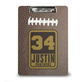 Football Custom Clipboard Personalized Football