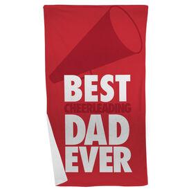 Cheer Beach Towel Best Dad Ever