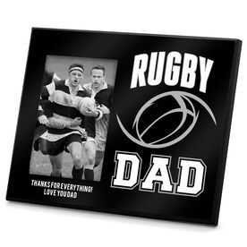 Rugby Photo Frame Rugby Dad