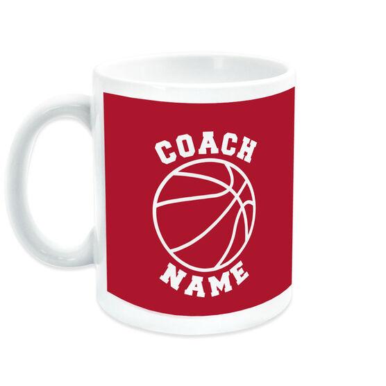 Basketball Coffee Mug Coach