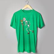 Guys Lacrosse Short Sleeve T-Shirt - Never Stop Laxing