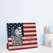 Personalized Photo Frame - US Flag
