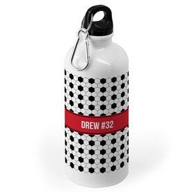Soccer 20 oz. Stainless Steel Water Bottle - Soccer Pattern