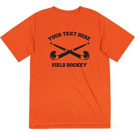Field Hockey Short Sleeve Performance Tee - Custom Field Hockey