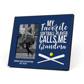 Softball Photo Frame - Grandma's Favorite Player