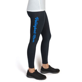 Volleyball High Print Leggings Volleyball Mom