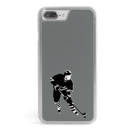 Hockey iPhone® Case - Silhouette Player