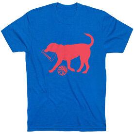 Cheerleading Tshirt Short Sleeve Coco The Cheer Dog