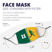 Baseball Face Mask - Personalized Batter