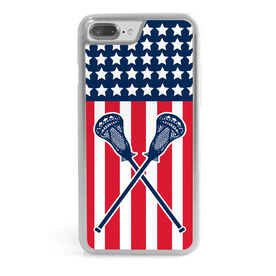 Guys Lacrosse iPhone® Case - USA Lax
