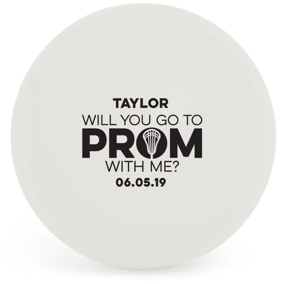Guys Lacrosse Ball - Promposal