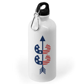 Cross Country 20 oz. Stainless Steel Water Bottle - Patriotic Cross Country