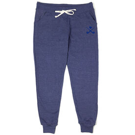 Field Hockey Joggers - Crossed Sticks with Heart