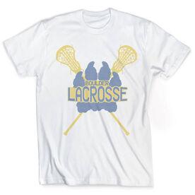 Vintage Lacrosse T-Shirt - Your Logo