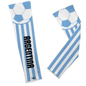 Soccer Printed Arm Sleeves Soccer Argentina