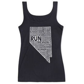 Women's Athletic Tank Top Nevada State Runner