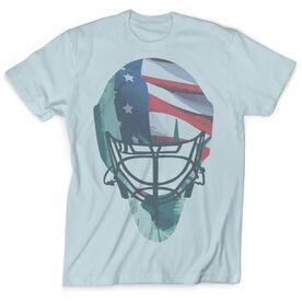 Vintage Hockey T-Shirt - Lady Liberty