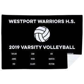 Volleyball Premium Blanket - Team Roster