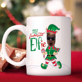 My Favorite Elfie Personalized Mug