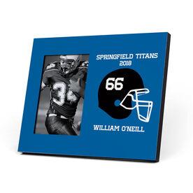 Football Photo Frame - Custom Football Helmet
