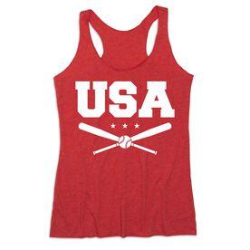 Baseball Women's Everyday Tank Top - USA Baseball