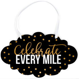 Running Cloud Sign - Celebrate Every Mile