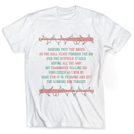 Vintage Softball T-Shirt - Jingle All The Way