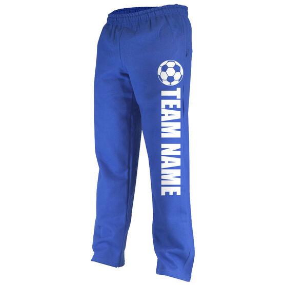 Soccer Fleece Sweatpants Soccer Team Name