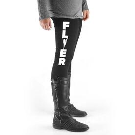 Cheerleading High Print Leggings - Flyer