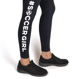 Soccer Leggings - #SoccerGirl