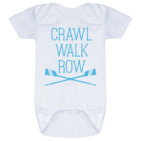 Crew Baby One-Piece - Crawl Walk Row