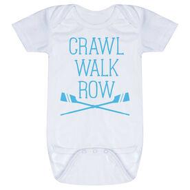 Crew Baby One-Piece - Crawl Walk Row