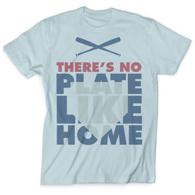 Vintage Baseball T-Shirt - There's No Plate Like Home