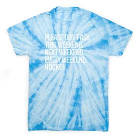 Hockey Short Sleeve T-Shirt - All Weekend Hockey Tie Dye