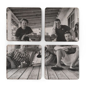 Personalized Stone Coaster Set of Four - Your Photo 4 Coasters