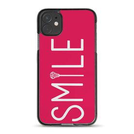 Girls Lacrosse iPhone® Case - Lax Stick Smile
