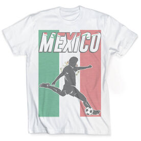 Vintage Soccer T-Shirt - Mexico