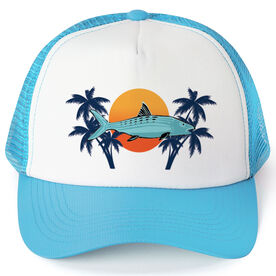 Fly Fishing Trucker Hat Bonefish Sunset