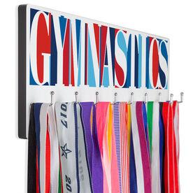 Gymnastics Hooked on Medals Hanger - Gymnastics Mosaic