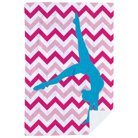 Gymnastics Premium Blanket - Watch Me
