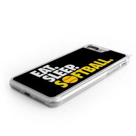 Softball iPhone® Case - Eat. Sleep. Softball.
