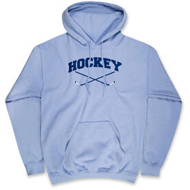 Hockey Standard Sweatshirt Hockey Crossed Sticks Logo