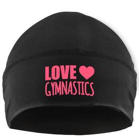 Beanie Performance Hat - Love Gymnastics