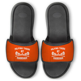 Guys Lacrosse Repwell™ Slide Sandals - Custom Lacrosse